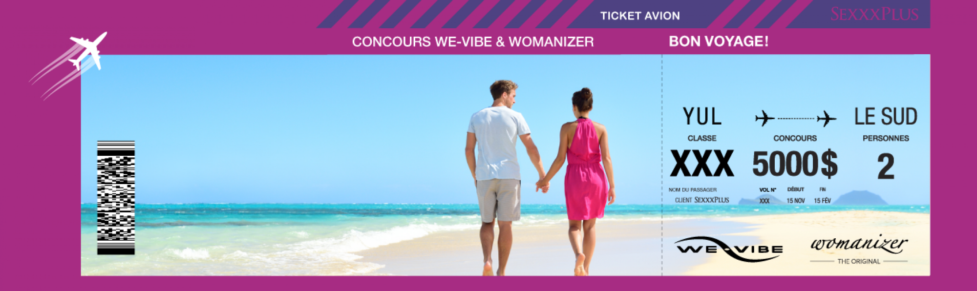 CONCOURS WE-VIBE &  WOMANIZER