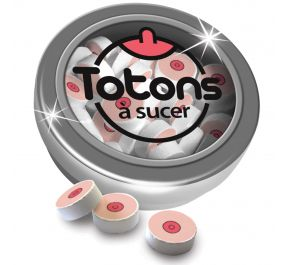 Totons à sucer MINT-02-F by Hott Products