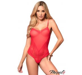 Teddy back Lace-up costume (medium/large) MP8456-7RE by Mapalé