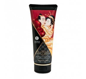 Kissable massage cream - Vin pétillant au fraise 8407-226 by Shunga