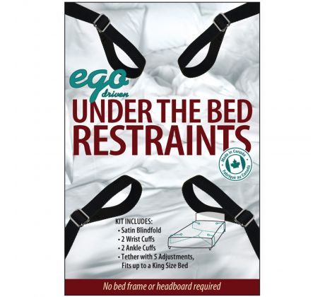 Attaches de lit sous-le-matelas E3029-BK by Ego Driven