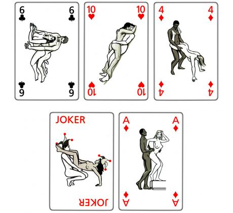 Playing card - Kamasutra MZ1076 by Icon