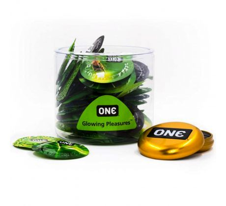 ONE mix glowing condoms 9853-027 by One Condoms