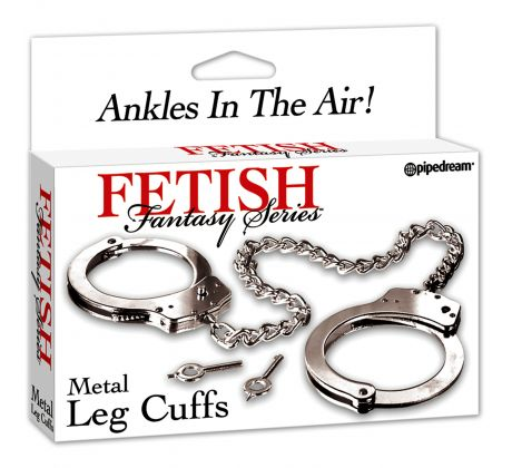 Fetish fantasy - Metal leg cuffs PD3807-00 by Pipedream