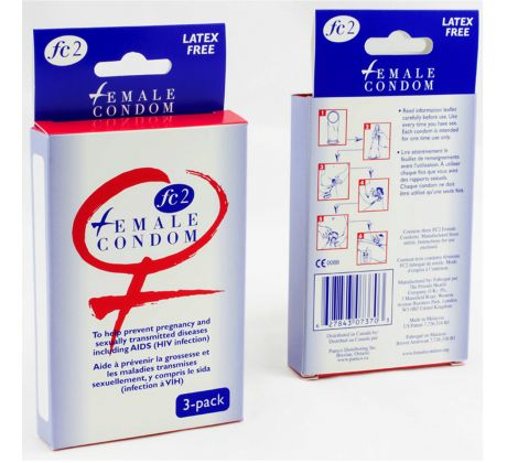 Feminine condom - 3 condoms PMFC2-3 by Sd Variations
