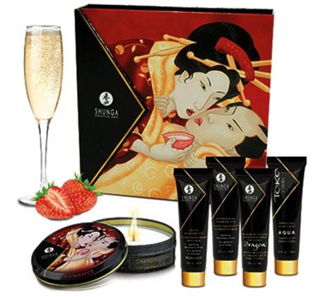 Geisha's secrets - Sparkling strawberry wine 8407-364 by Shunga