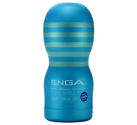 Cool Deep Throat Cup 8834-115 by Tenga
