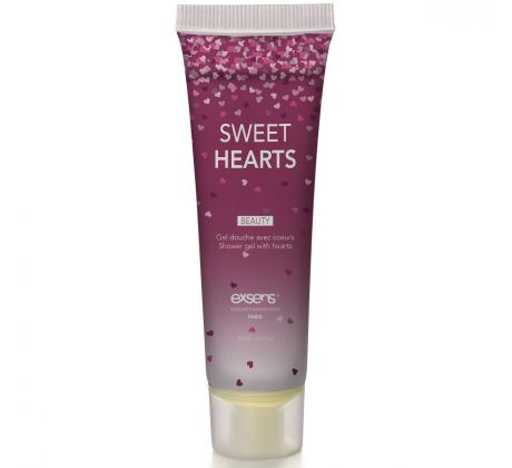 Shower gel with hearts SWEHEA by Exsens