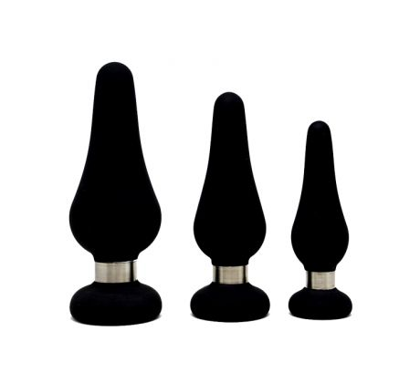 Tear drop Silicone Plug Large FG-209-00 by Figo