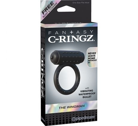 C-Ringz the wingman noir PD5924-23 by Pipedream