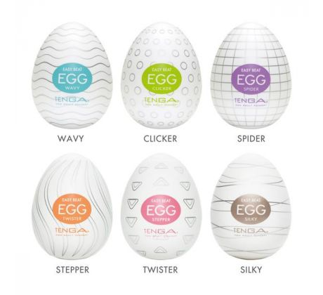 Tenga egg - Mixed Pack 8834-200 by Tenga