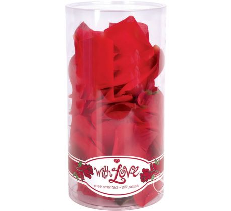 With love rose scented silk pe T-1014684 by Topco